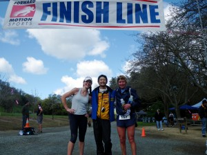 I finished third behind Mark Tanaka and Beth Vitalis.