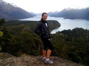 A peaceful run last week overlooking Lago Nahuel Huapi in the Patagonia lake district of Argentina.