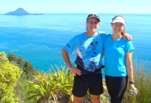 Morgan and me running last week on the North Island of New Zealand. A year ago, I never imagined we'd end the year here!