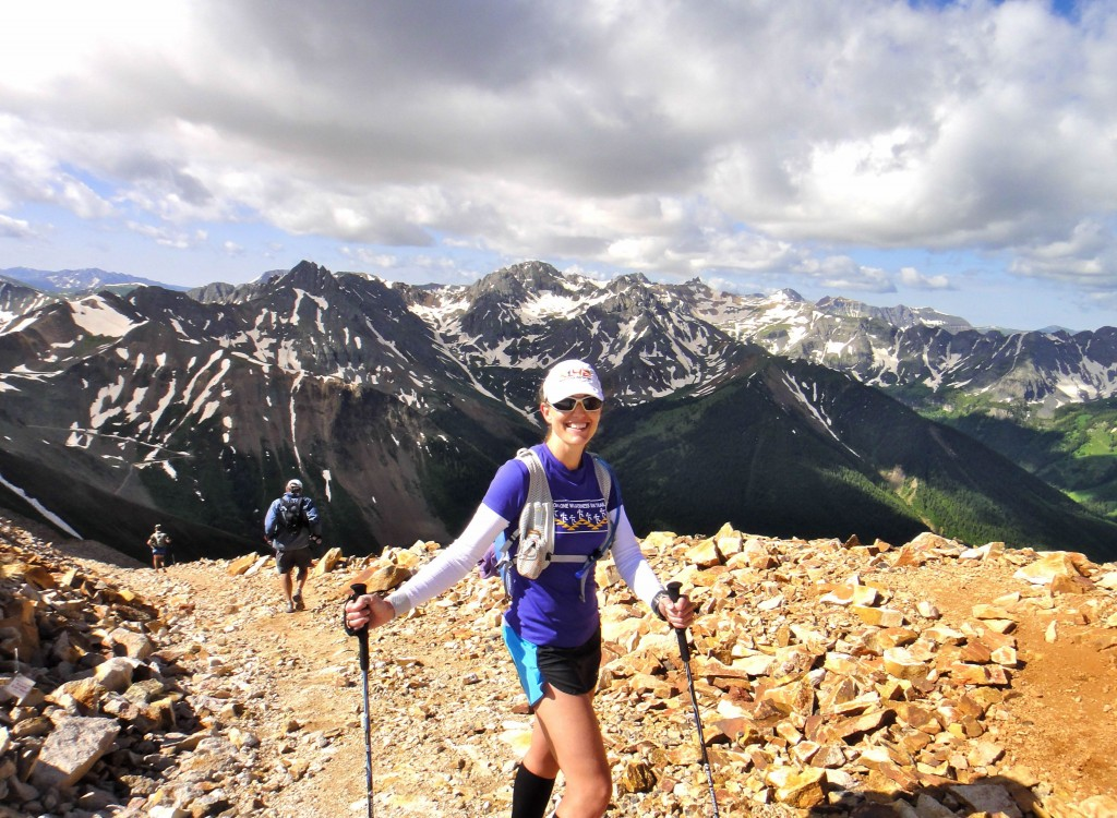 In the San Juan Mountains of Southwestern Colorado while pacing at the Hardrock 100
